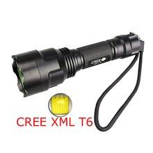 LED Flashlight 3800 Lumens Tactical Flashlight CREE XM L T6 LED Torch Waterproof Light 1x18650 Battery