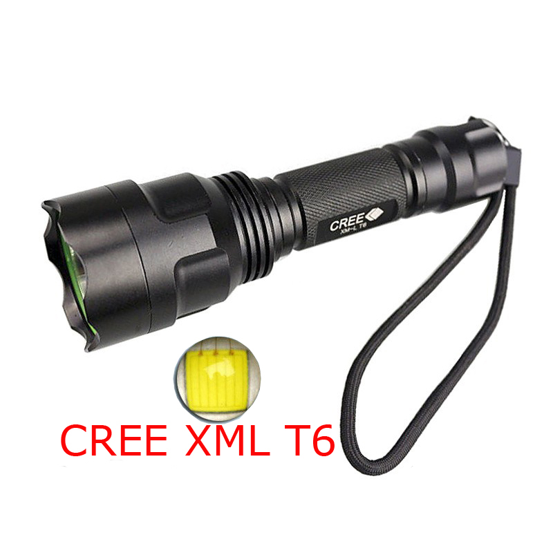 LED Flashlight 3800 Lumens Tactical Lamp CREE XM-L T6 LED Torch Waterproof Light Camping lantern by rechargeable 18650 Battery klarus xt10 led flashlight 470 lumens cree xm l t6 led 3 mode mini tactical flashlight waterproof flashlight with 18650 battery