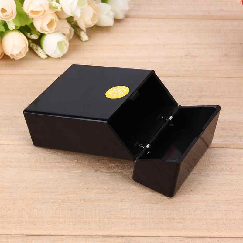 1Pcs Plastic Smoking Cigarette Case Box Holder Container Pocket Box Cigarette Holder Storage Smoking Accessories 10*6*3cm