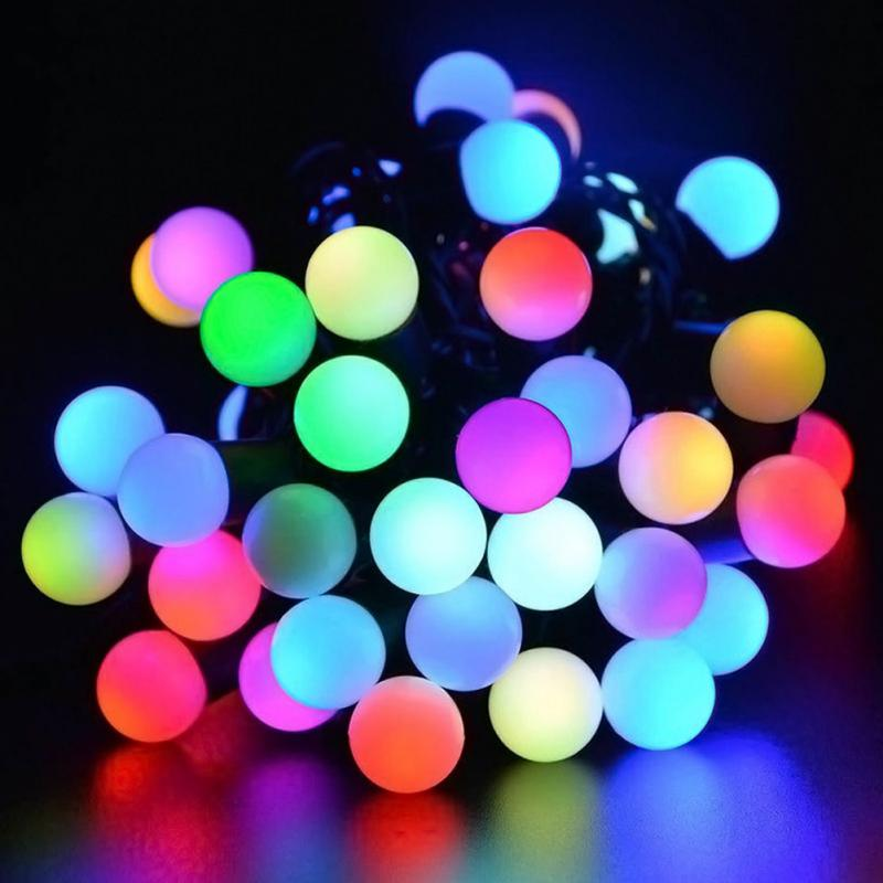 KARL Decor International 40 LED Solar Automatic Charging Light String Garden Wedding Christmas Outdoor Decorations