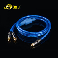 Wholesale Brand Enthusiast Audio Cable RCA Lotus One Point Two Audio Cable Speaker Wire Cable 1RCA