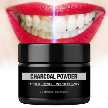 GENKENT Teeth Whitening Scaling Powder Tooth Whitener Cleaning Packing Premium Activated Organic Charcoal Powder фото