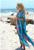 Estilo de verano 2017 de la gasa larga dress batwing manga de gran tamaño sexy beach dress venta caliente nueva impresión floral de los vestidos ocasionales para las mujeres