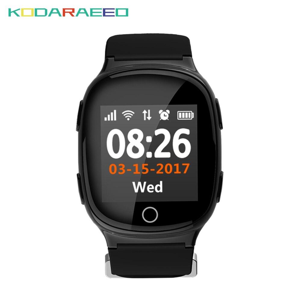 Goede Koop D100 Smart Horloge Hartslag Tracker Monitor Met