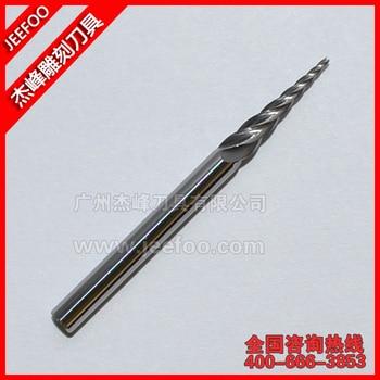 D3.175*0.7 Five Flutes Taper End Mill/ Solid Carbide CNC Taper End Mill /CNC Router Bits
