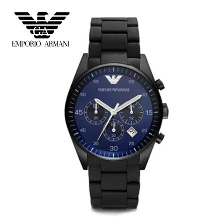 originais Giorgio Armani relógios, grande relógio cronógrafo - Relógios masculinos
