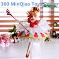 Anime Cardcaptor Sakura Kinomoto Sakura 15th Anniversary 1/7 Scale Action Figure Collectible Model Toy 27cm RETAIL BOX WU916