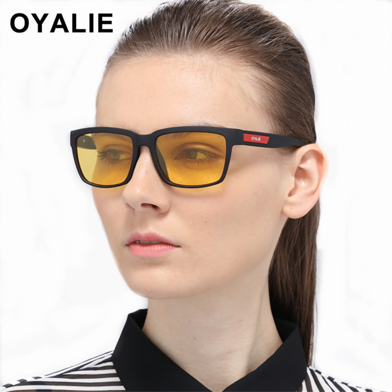 OYALIE Women Glasses Night Vision Goggles Polarized Sunglasses Men Sun Glasses UV400 Protection Car Driving Eyewear At Night