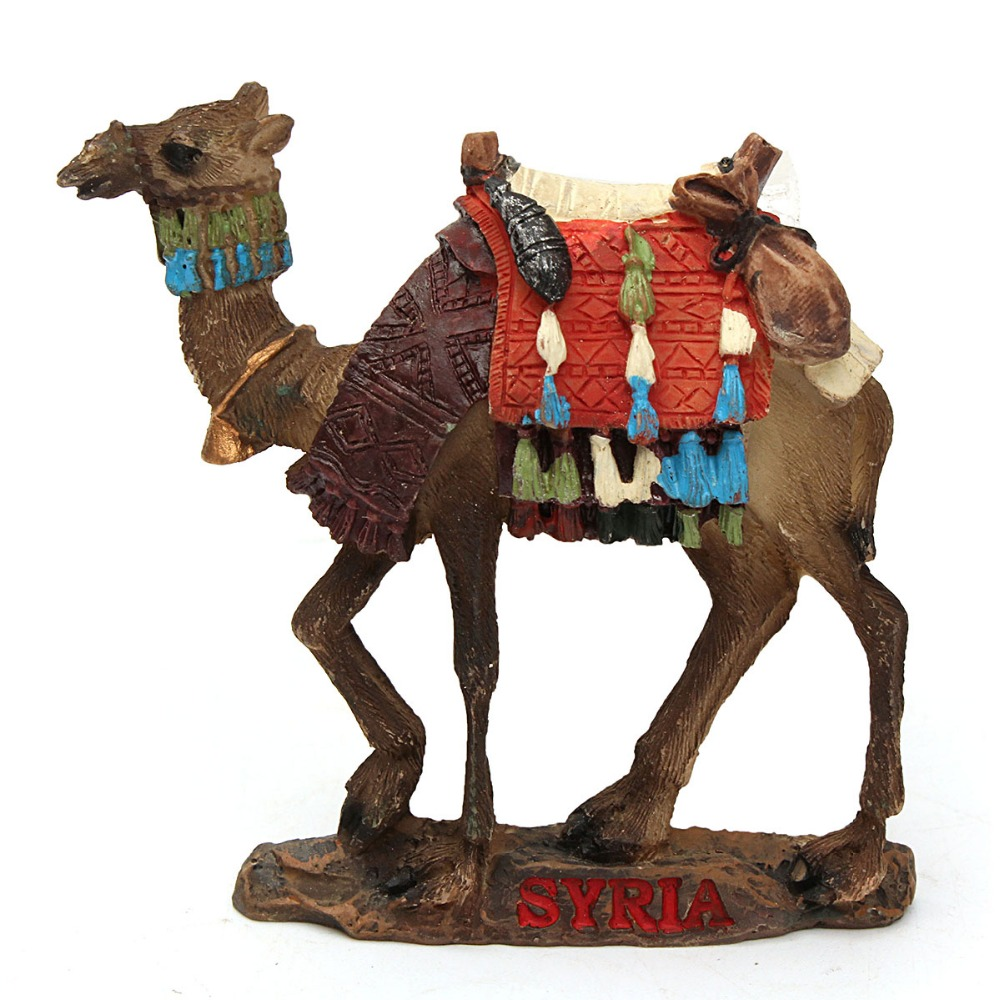 High Quality Handmade 3D Syrian Camel Fridge Magnet Travel Souvenirs Creative Refrigerator Magnetic Stickers Home Decoration art