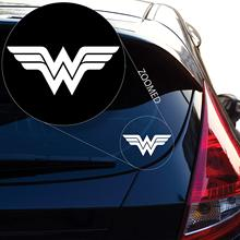 Yoonek Graphics Wonder Woman Decal Sticker for Car Window, Laptop, Motorcycle, Walls, Mirror and More. # 550 (2 x 4.6, White) wonder woman decal sticker for car window laptop motorcycle walls mirror and more car sticker car door protector car stickers