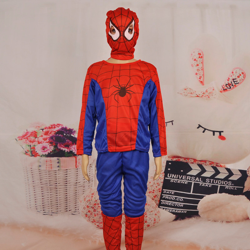 3 styles kids baby superhero spider man superman batman spiderman cosplay carnival halloween costume child accessories for kids 20