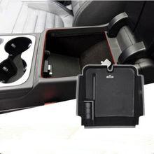 Coche-estilo dedicado modificado compartimento de almacenamiento de apoyabrazos Central guante bandeja de caso para Volkswagen vw Touareg 2016