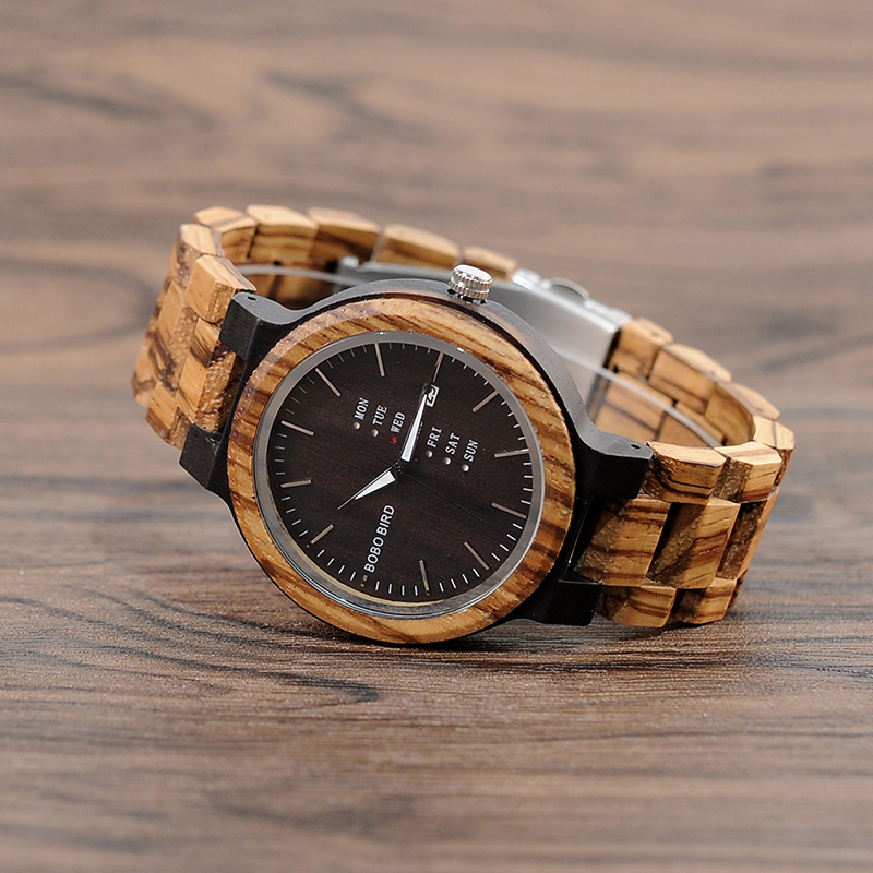 wood band wristwatches fashion bobo bird new gifts items (11)