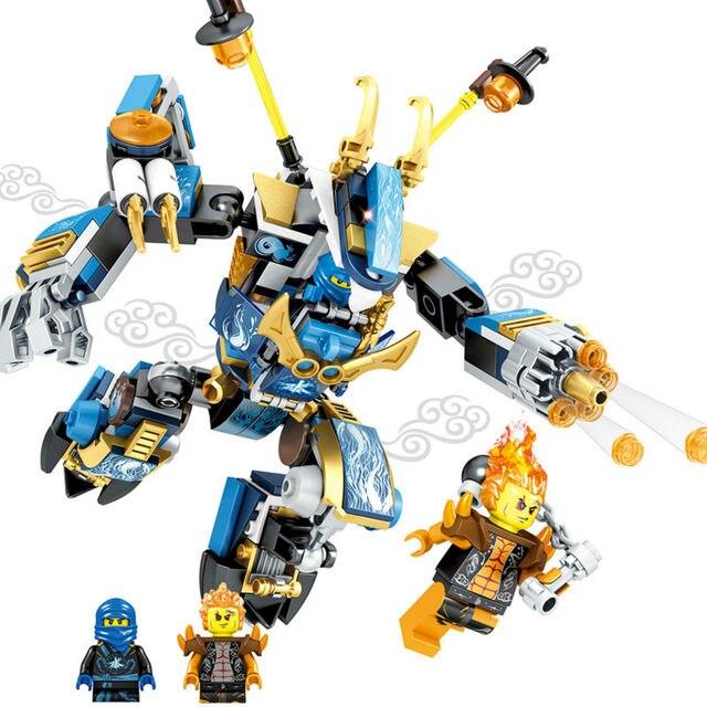 2017 moc Compatible LegoINGlys NinjagoINGlys dragon Mechs Building Blocks Bricks Boy Toys For Children Gifts