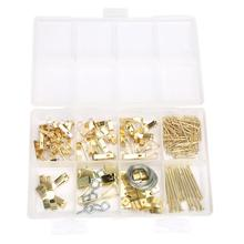 200Pcs/set Wholesale Iron Nails Hook Frame Screw Set Assorted Picture Hanging Kit Assortment