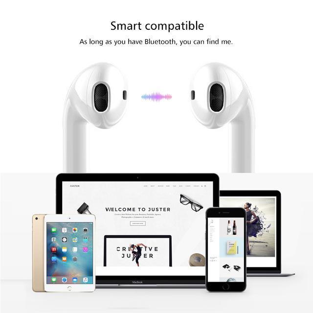 i11 tws Bluetooth Headset Wireless Earphones fone de ouvido Bluetooth 5.0 Mini Wireless Earbuds For iPhone X 8 Xiaomi Samsung S8