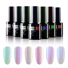 1pc Pearl Shell Mermaid Warna UV Gel Nail Polish 10ml