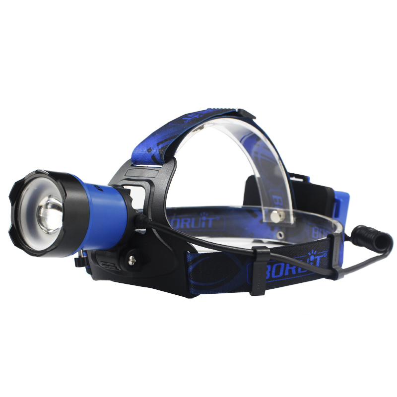 Portable Lighting USB Rechargeable Head Lamp B13 XML L2 LED Headlamp 3-Mode Waterproof Head Lamp Torch Camping Hunting 1000LM