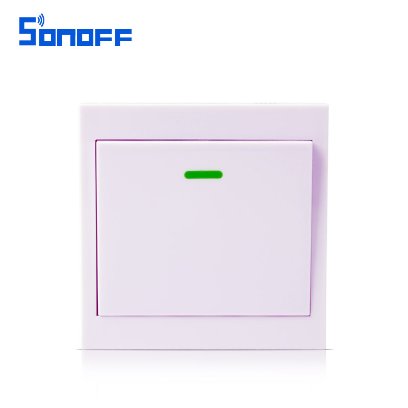 Sonoff wireless remote transmitter 1 channel sticky for Living room channel 9