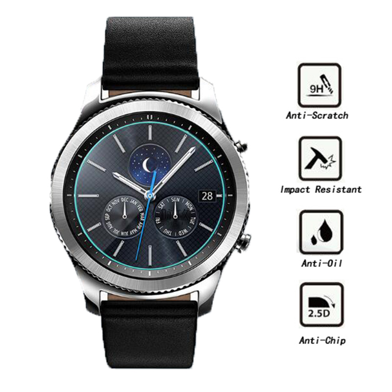 For Samsung Galaxy Gear S2 S3 Classic Tempered Glass Screen Protector 9H 2.5D Protective Glass Film For Samsung Gear S2 S3