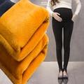 2016 новый зима теплая беременных женщин брюки плюс кашемировые брюки беременных брюки живот брюки утолщенной платье материнства