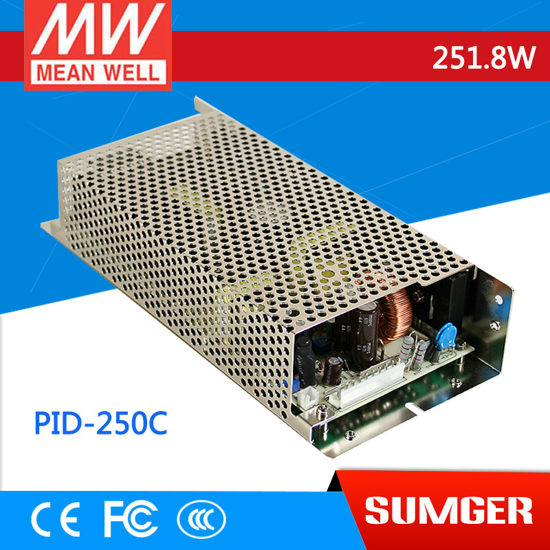 1MEAN WELL original PID-250C meanwell PID-250 251.8W Isolated Dual Output with PFC Function PCB type