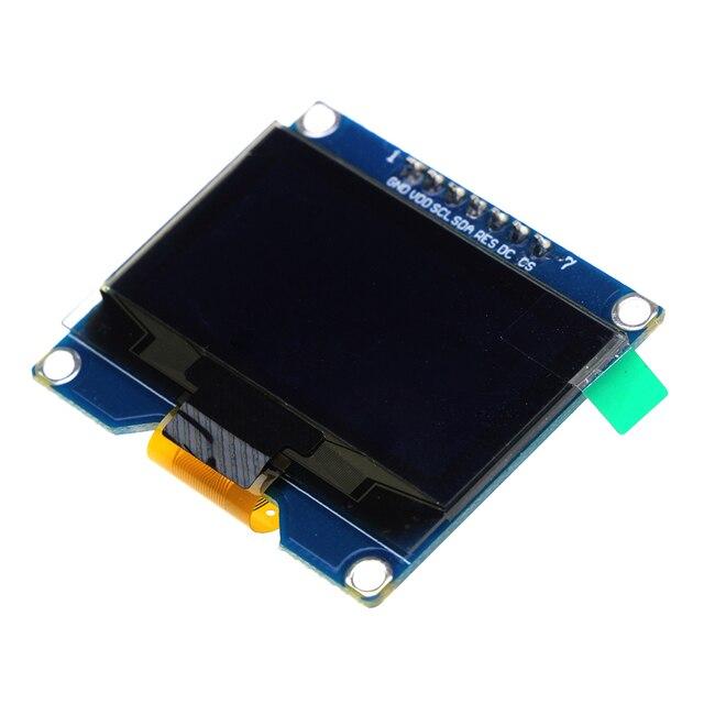 ホット販売1.54インチ白色oledディスプレイモジュール128 × 64 spi iic i2cインタフェースoledスクリーンボード3.3-5ボルトuart