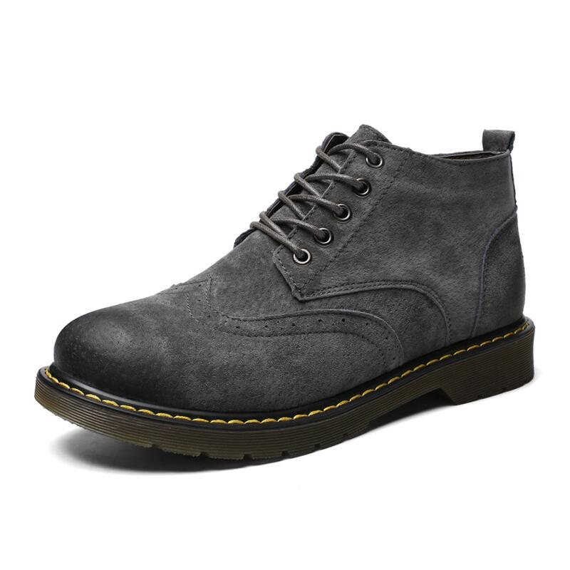 Men's Boots Men Boots Ankle Boots Fashion Footwear Lace Up Shoes Men High Quality Vintage Men Shoes Hh-853 Good For Antipyretic And Throat Soother