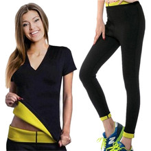 Women Yoga Slimming Shirts+Sports Pants Sport Suit Set Running Fitness Training Clothing Sportswear for