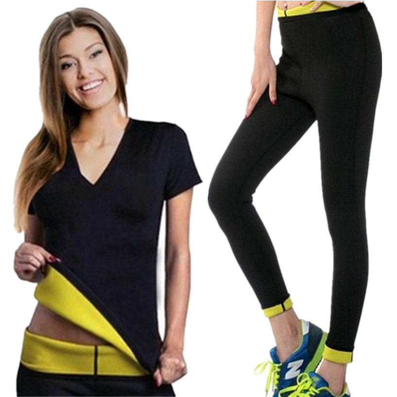 Ladies Yoga Slimming Shirts+Sports activities Pants Sport Swimsuit Yoga Set Operating Health Coaching Clothes Ladies Sportswear For Ladies Health