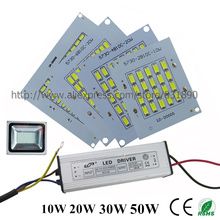 1Set Full Watt 10W 20W 30W 50W 100W 150W 200W High Power COB LED lamp Beads Chips with LED Driver For DIY Floodlight Spot light