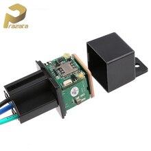 TKSTAR Relay Mini GPS Tracker GSM Car GPS Locator Cut Off Fuel Hidden Design Car Tracker Google Maps Track Shock Alarm Free APP цена