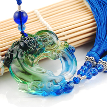 Pi Xiu Hanging Glass Pendant Ornament Car Interior Decor Accessories