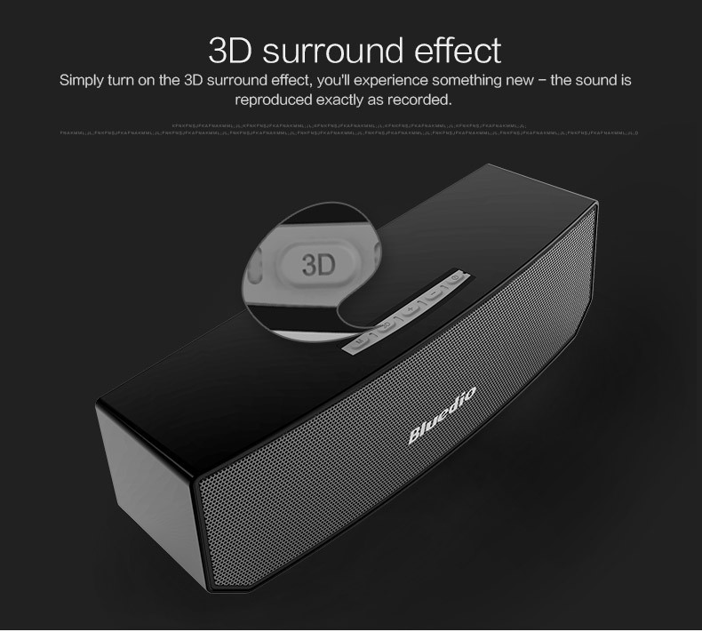 Big BASS Bluedio BS-3 Camel Bluetooth speaker Portable Wireless speaker Home Theater Party Speaker Sound System 3D stereo Music