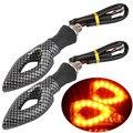 2pcs Universal Motorcycle Bike Turn Signal Indicator Light Amber Blinker Lamp New Dropping Shipping