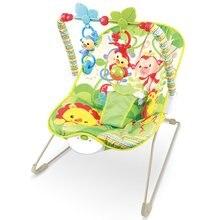 Детское Электрическое Кресло-Качалка многофункциональная музыкальная вибрационный грохот детское кресло-качалка recliner toy