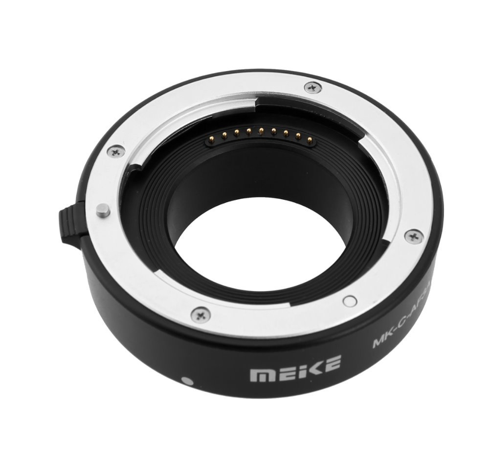 MEKE Meike C-AF3A Metal Auto Focus AF Macro Extension Tube Set 10mm 16mm for Canon EOS M Mount Micro DSLR Camera