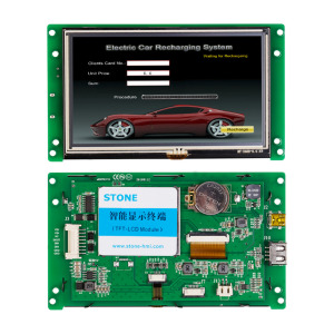 "5.0"" Advanced Type TFT LCD Display With High Resolution"