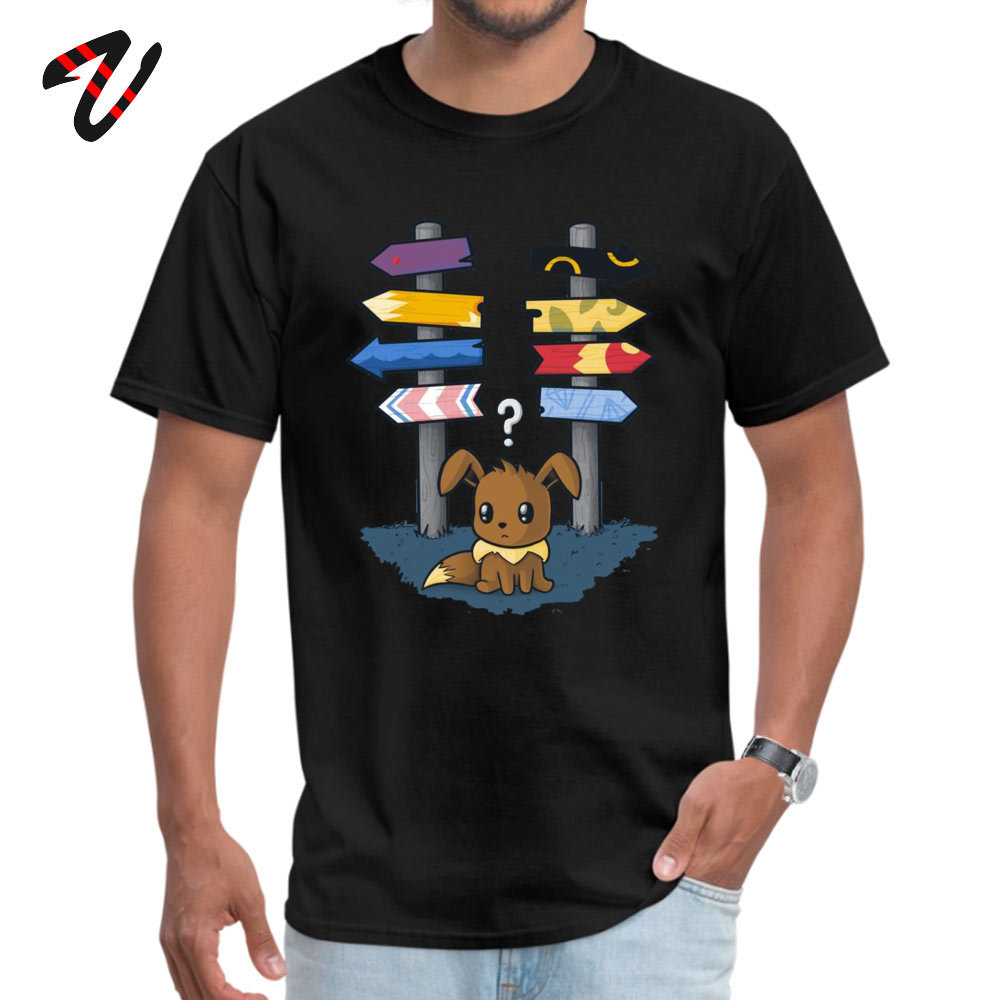 discount-men's-new-tshirts-pikachu-font-b-pokemon-b-font-eevee-which-way-to-go-crew-neck-100-cotton-tops-tees-casual-anime-men's-t-shirts