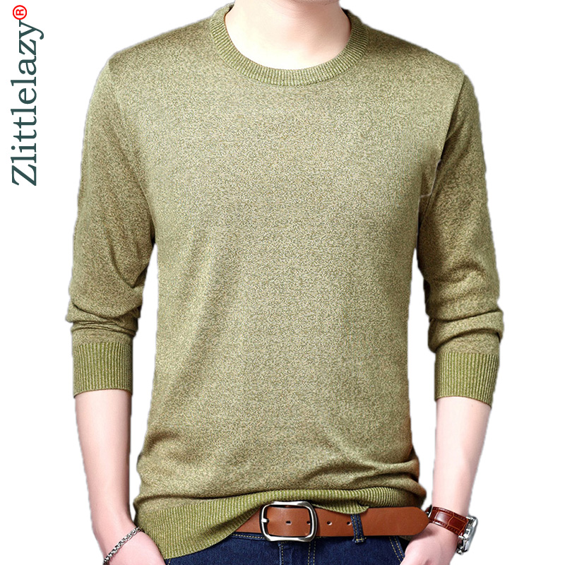 2019 Brand Korean Style Thin Solid Pull Sweater Men Wear Jersey Mensluxury Pullover Mens Sweaters Male Spring Fashions 24021