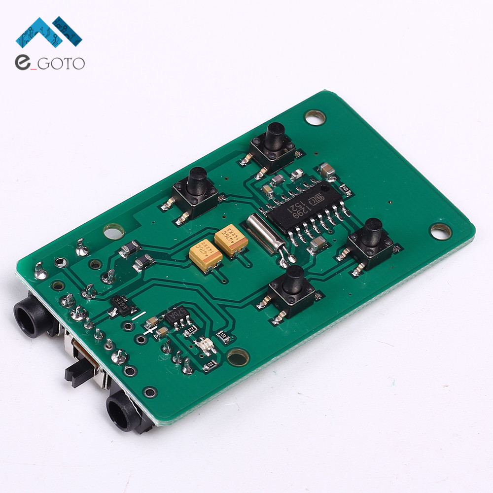 76 108mhz Fm Transmitter Wireless Microphone Radio Frequency Mhz Circuit Good Basic Low Power Modulation Pcb Module Key Control Board 37v In Integrated Circuits From Electronic Components