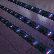 Высокое Качество СВЕТОДИОДНЫЙ Змея tails10m led Хвосты 60 p лампа с зарядным устройством можно повесить в воздушный змей Вэйфан Кайт с фабрики