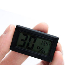 Digital LCD Indoor Temperature Humidity Meter Thermometer Hygrometer