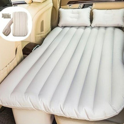 Matelas Voiture Gonflable Auto Back Seat Cover Air Matras Reizen Bed Opblaasbare Matras Auto Bed Lit Voiture Air Bed|Auto Reis bed|   -