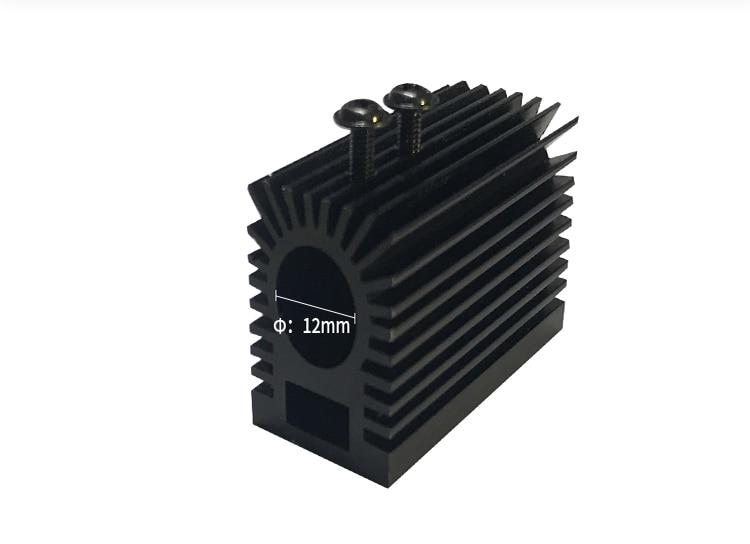 DIY New TYPE Professional Cooling Heatsink/ Heat Sink For 12mm Laser Diode Laser Module 10000mw 150000mw Laser Heatsink