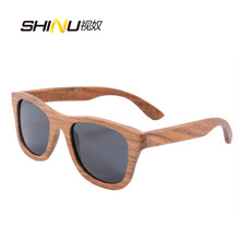 real wood sunglasses men women sports pear wooden sun glasses polarized with round bamboo case z6016