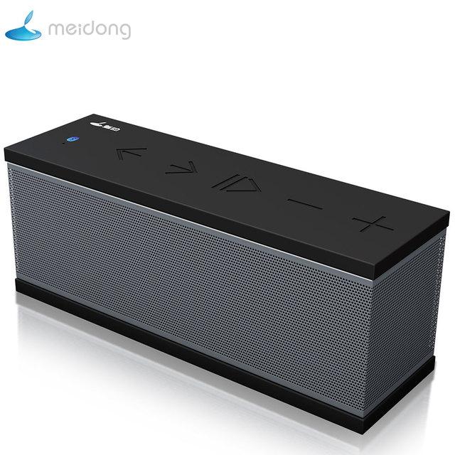 Altavoz Bluetooth portátil Meidong altavoz inalámbrico portátil sistema de sonido estéreo música envolvente impermeable altavoz exterior