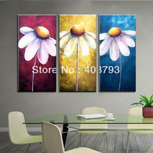 MODERN ABSTRACT HUGE LARGE CANVAS ART OIL PAINTING smile flower for decoration  free shipping