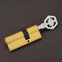 Security Door Cylinder Gear Cylinder 70mm 32 5mm 37 5mm 8 Keys NO Decoration Keys