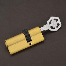 UNILOCKS Security Door Lock 11 Gear Cylinder(70mm=32.5mm+37.5mm)+8 Keys(NO Decoration Keys)